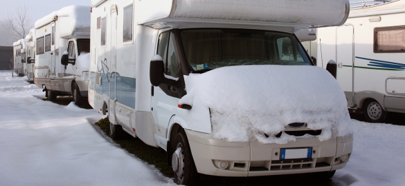 A guide to overwintering your motorhome