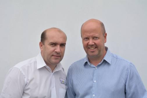 Neil Hall &  Leon Toland