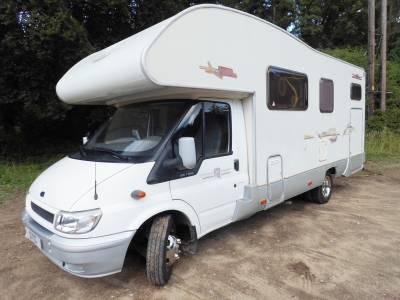 Ford Rimor Europeo NG5 LHD Garage Fixed bed