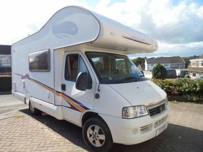 Swift Suntor 590RS 2006 rear kitchen 5 berth motorhome for sale
