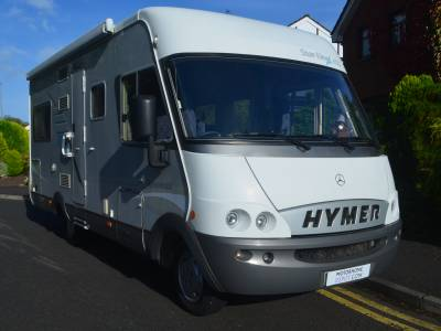 2005 MERCEDES HYMER STARLINE 655