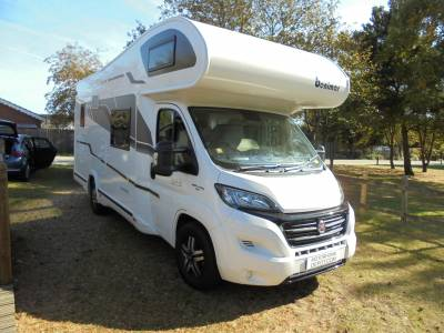 2017 Benimar Mileo 323 6 berth 6 seat belts hab aircon motorhome for  sale