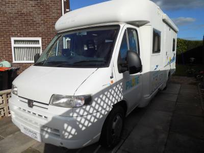 Pilote Pacific 690  2001 4 berth fixed rear bed motorhome for sale