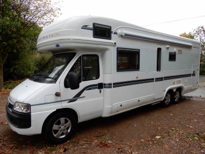 Autotrail Chieftain 2006 6 Berth Rear Fixed Bed Rear Garage Motorhome For Sale Ref 16452