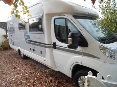 Autosleeper Broadway FB 2014 4 berth fixed rear bed motorhome for sale