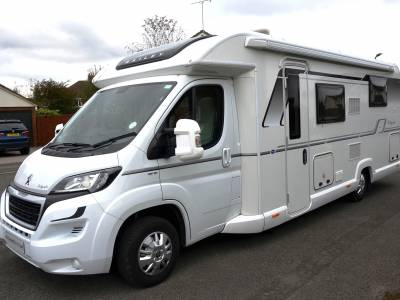 4-berth 2017 Bailey Autograph 79-4 motorhome for sale with Bailey Warranty