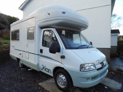 Autosleeper Orian Dorado 2006 4 berth rear lounge motorhome for sale
