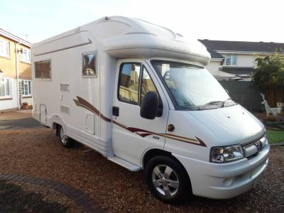Autocruise Starspirit 2 berth rear lounge motorhome for sale