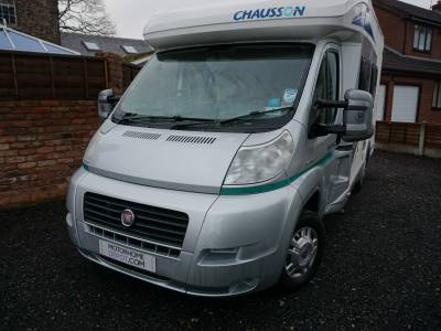 Chausson Flash S2 Two berth fixed bed end bathroom