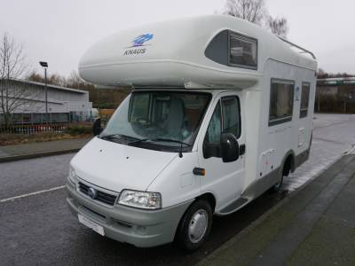 Knaus Sport Traveller 4 Berth End Washroom Compact Motorhome For Sale