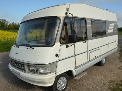 REDUCED Hymer B544 5-berth left hand drive motorhome for sale