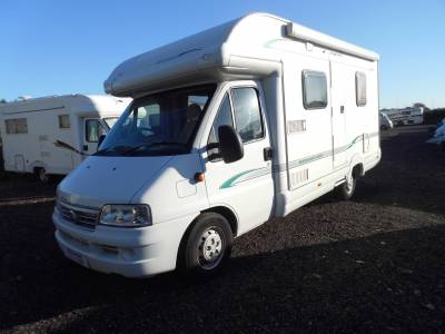 Bessacarr E450 2 berth fixed bed motorhome for sale