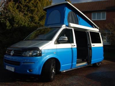 2015 VW T5 T30 highline, long wheel base, 4 berth, campervan