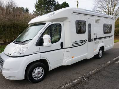 Bessacarr E560 rear fixed bed motorhome for sale