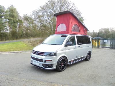 V W T5.1 Highline Transporter Camper Van