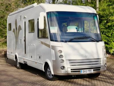 Niesman Bischoff - Luxury 4 Berth A Class Motorhome For Sale
