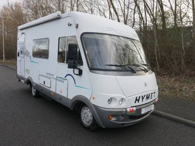 Hymer B584 A-Class End kitchen Motorhome for Sale