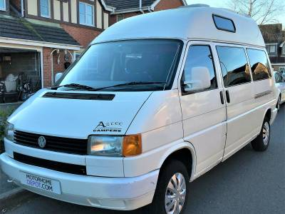 VW T4 Aztec Campervan High Top 4 Berth Motorhome For Sale