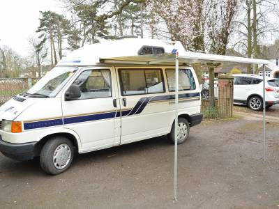 Volkswagen Holdsworth Vision XL high top 2-berth camper van for sale with automatic gearbox