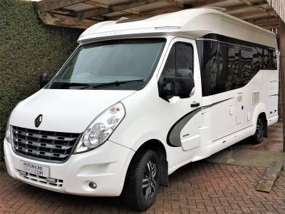 Hobby Premium Van 65 GE End Bedroom 3 Berth Motorhome For Sale