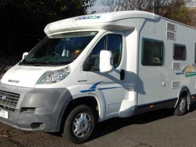 2007 Chausson Flash 08 4 berth, 4 seat belt , fixed bed motorhome