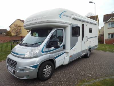 Autotrail Mohawk 4 berth fixed rear bed large garage motorhome for sale