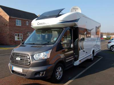 2017 Chausson Welcome 718EB luxury island bed low profile motorhome