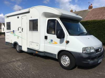 Chausson Welcome 85 Fixed Bed 4 Berth