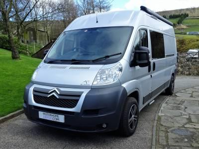Citroen Relay Professional  Camper Van Conversion - 3500kg - Canopy - Fixed Rear Bed - Washroom