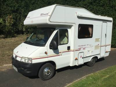 COMPASS AVANTGUARD 100 4 BERTH WITH 4 SEATBELTS