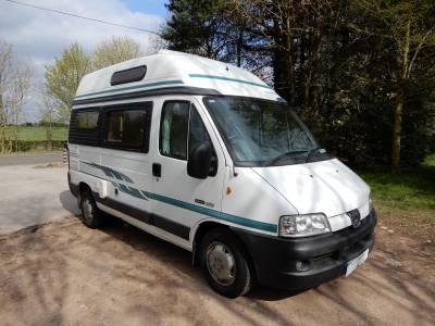 Autosleeper Symbol, End Kitchen, Over Cab Bed Campervan Motorhome For Sale