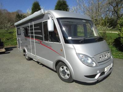 Hymer Exsis 562 Silverline Luxury Twin Bed A Class Motorhome For Sale