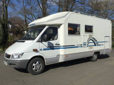 ADRIA STARGO 670 FIXED BED WITH GARAGE, MERCEDES CAB, NICE VEHICLE