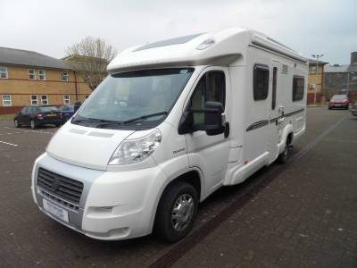 Bessacarr E560 4 berth fixed bed motorhome for sale