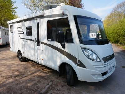 Hymer Exis i588 Rear fixed Bed, Centre Dinette Motorhome For Sale