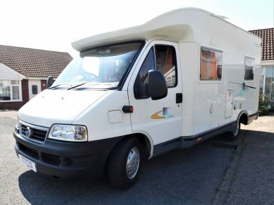 Chausson Welcome 55   2.8 Turbo 3 Berth 4 Seat Belts Rear Fixed Bed