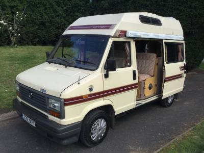 AUTO-SLEEPERS RAMBLER 4 BERTH CAMPERVAN WITH LONG MOT & NEW HAB CHECK