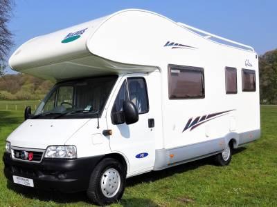 2005 McLouis Glen 690 - Low Mileage - 6 Berth - 6 Seatbelt - Rear Lounge - Overcab Bed - Roof Rack - £1500 REDUCTION!