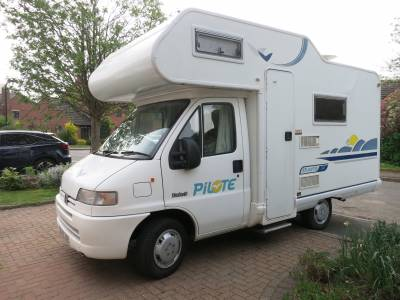Pilote Atlantis 34 - 4 Berth Motorhome For Sale