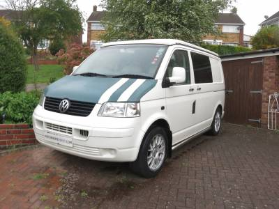 VW T5 T30 SWB - 4 Berth Pop Top Campervan For Sale