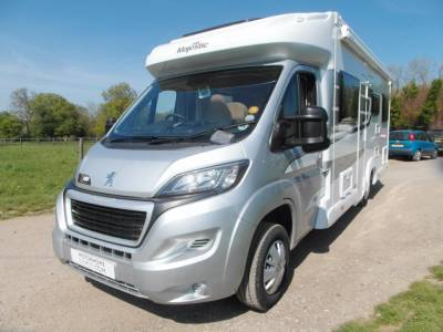 Elddis Majestic 196 - 6 Berth Motorhome - 6 Belts - Solar Panel
