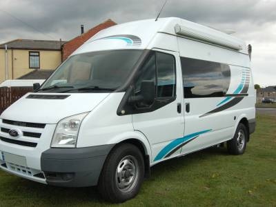 2010 Ford Transit 2 berth hightop Campervan, newly converted, high spec, rear garage