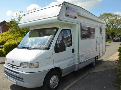 1995 4-berth Elddis Autoquest Elite 350S motorhome for sale