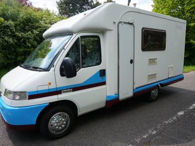 Autocruise Pioneer 3 berth rear fixed bed motorhome for sale