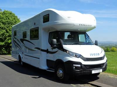 2015 RS Endeavour Motorhome Motorsport Motox Motor Cross ** Rare Two Sided Garage REDUCED by £15k JULY 2020