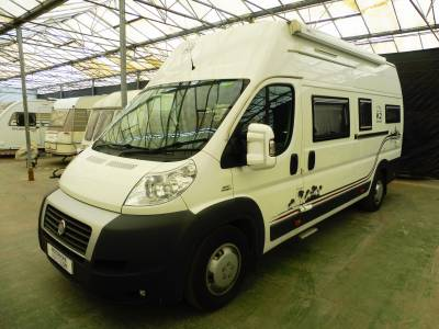 K2 Campervan Fiat Ducato 2 berth single beds for sale