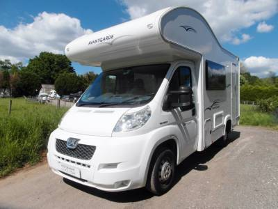 Compass Avantgarde 130 - 5 Berth Motorhome - 4 Seatbelts