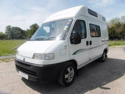 Bessacarr E350 - 2 Berth Motorhome - 3 Traveling Seats