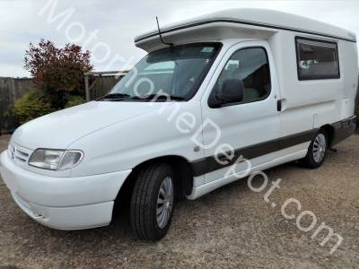 Citroen Romahome Duo Hylo       Semi-automatic, Tow bar,  New canopy