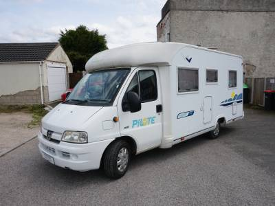 Pilote Pacific P8 4 berth rear fixed bed motorhome for sale